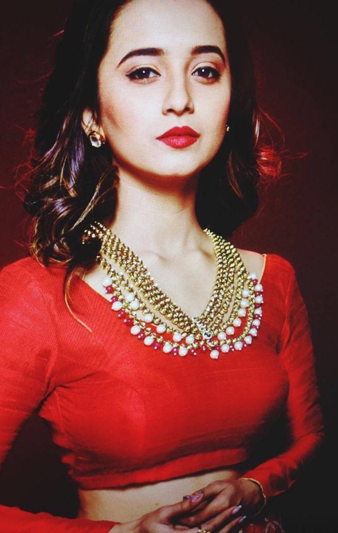 Shivani-Red-Colors-Dress-min